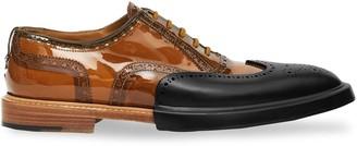 Burberry Toe Cap Detail Oxford Brogues