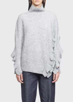 3.1 Phillip Lim Ruffle-Trim Sweater