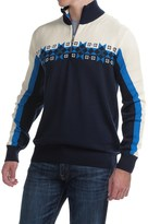 Dale of Norway Fjell Wool Sweater - Zip Neck (For Men)