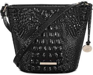 Brahmin Melbourne Embossed Leather Mini Quinn Crossbody