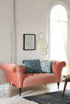 Urban Outfitters Antoinette Fainting Sofa - Coral