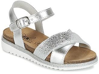 Citrouille et Compagnie GAUFRETTE girls's Sandals in Silver