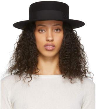 Maison Michel Black Felt Kiki Timeless Hat