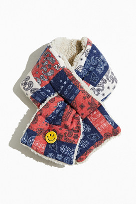 Urban Outfitters Paisley Smile Pull-Through Scarf