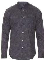 John Varvatos Digital-print Cotton Shirt