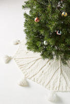 Anthropologie Cozy Knit Tree Skirt
