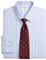 Brooks Brothers Non-Iron Regent Fit End-on-End Stripe Dress Shirt