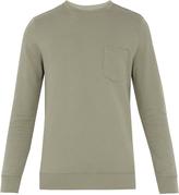 A.P.C. Worker crew-neck cotton sweatshirt