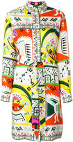 Emilio Pucci printed shirt dress - women - Silk - 40