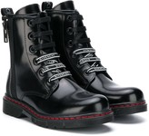Givenchy Kids lace-up boots