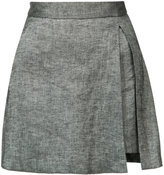 Veronica Beard mini skirt - women - Linen/Flax/Spandex/Elastane/Viscose - 2