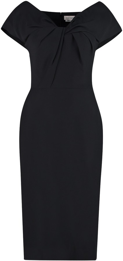 Thumbnail for your product : Alexander McQueen Stretch Sheath Dress