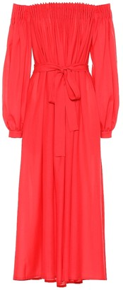 Gabriela Hearst Otalora wool and cashmere dress