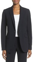Anne Klein Women's Long Boyfriend Suit Jacket