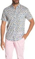 Good Man Brand Floral Button Down Slim Fit Shirt