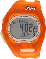 Asics Ar08 Night Run Unisex Orange Strap Watch-Cqar0803y