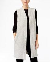 Eileen Fisher Wool-Blend Duster Sweater Vest
