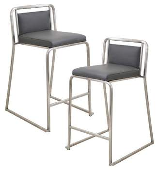 "Lumisource Cascade Contemporary 25"" Counter Stool - (Set of 2)"