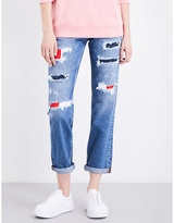 Tommy Jeans Distressed 90s mom-fit high-rise jeans