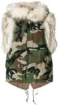 Furs66 canvas mini vest