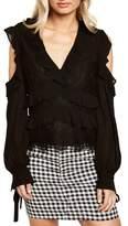 Bardot Women's Florentine Cold Shoulder Lace Top