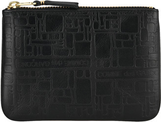 Comme des Garcons Embossed Zip Pouch
