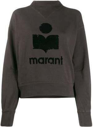 Etoile Isabel Marant logo stamp sweatshirt