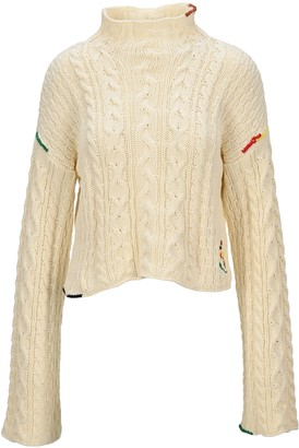 J.W.Anderson Logo Embroidered Sweater