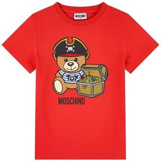 Moschino T-shirt W/pirate Teddy
