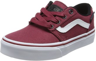 Vans Unisex Kids' Chapman Stripe Trainers Red(Tibetan Red/White(C&L) 13.5 UK Child 31.5 EU