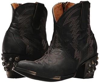 Old Gringo Moreen Short (Black) Cowboy Boots