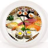 "Ikea New Japanese Sushi Wall Clock 10"" Will Be Nice Gift and Room Wall Decor Y84"