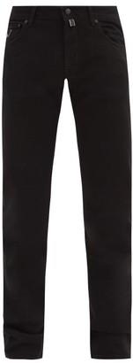 Jacob Cohen Slim-leg Cotton-blend Jeans - Black