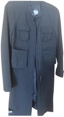 Plein Sud Jeans Anthracite Viscose Coats