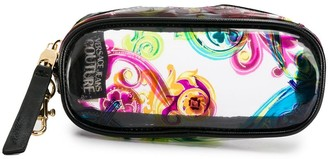 Versace Baroque Print Clip-On Pouch