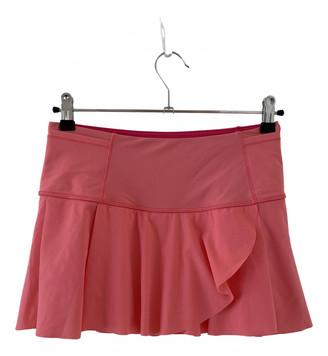 Lululemon Pink Lycra Shorts