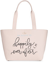 Kate Spade Wedding Belles Happily Ever After Small Tote