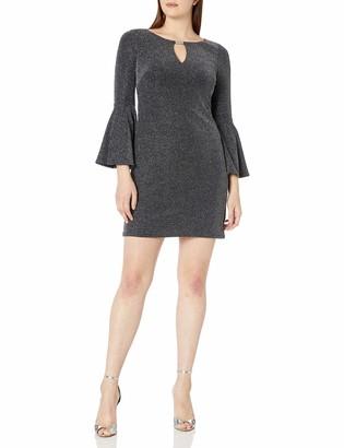 Jessica Howard JessicaHoward Women's Keyhole Neck Shift Dress