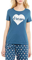 Sleep Sense Dream Heart Jersey Sleep Top