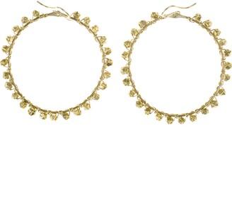 Nashelle Bernadette Hoop Earrings
