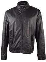 Calvin Klein Jeans Men's Track Print Biker Jacket