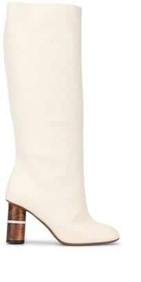 Neous Mid-Calf Length Boots