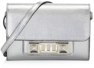 Proenza Schouler Mini PS11 Metallic Leather Crossbody Bag