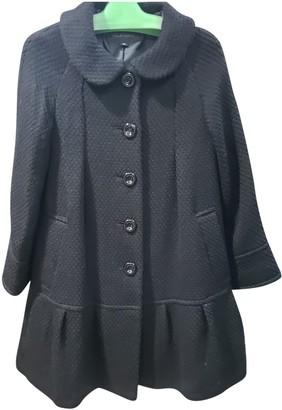 Jill Stuart Black Wool Coat for Women