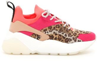Stella McCartney Leopard Print Sneakers
