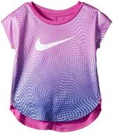 Nike Optical Ombre Dri-FIT Short Sleeve Tee Girl's T Shirt
