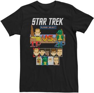 Victoria's Secret Licensed Character Men's Star Trek Original Series Kirk Gorn 8-Bit Tee