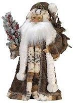 Kurt Adler Jacqueline Kent Woodland Standing Santa, 18-Inch