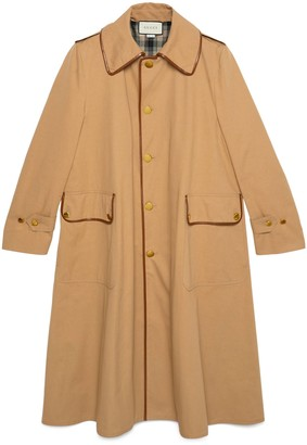 Gucci Cotton drill oversize coat