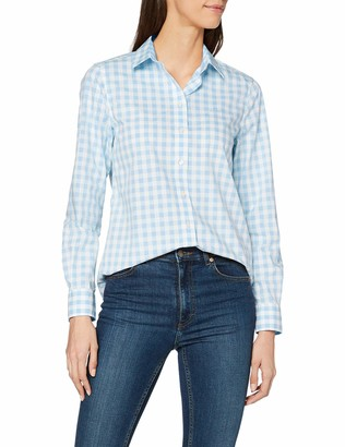 Gant Women's The Broadcloth Gingham Shirt Blouse